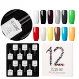 ROSALIND 12 stks 10ML Soak Off Salon UV Nagelgel Polish Nail A