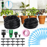 KCASA 37PCS Automatic Micro-Drip Irrigation System 10M 8M Garden Irrigation Spray Self Watering Kits