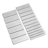 18pcs Metric 4mm Thick Parallel Base Set Machine Tool Parallel Pad Block Vises Parallel Iron Plate 10-42mm