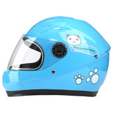 Nuoman Motorcycle Riding Electric Bike Helmet Children Outdoor Safety Motorcycle Kids Children Cute Bear Helmet