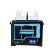 QIDI® X-Pro Dual Exturder Impresora 3D Impresión a doble color 200 * 150 * 150 mm Tamaño de Impresión Soporte Conexión WIFI