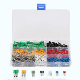 600Pcs Insulated Cord Endklemme Bootlace Cooper Ferrulen Kit Set Draht Kupfer Crimp Anschluss
