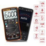 ANENG AN9002 Digital bluetooth True RMS Multimeter 6000 Counts Professional Auto Multimetro AC/DC Current Voltage Tester Orange