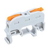 SPL-1 PCT-211 Railtype Snelle verbindingsterminal Druktype Connector in plaats van UK2.5B-aansluitblok