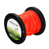 2.4mm x 50m Heavy Duty Nylon Square Trimmer Strimmer Line Brushcutter Cord Rope