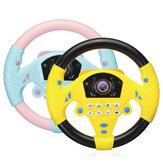 Jouet de roue de Sterring simulé pour enfants Volant multifonctionnel en plastique pour enfants Jouet de développement du QI pour l'éducation précoce