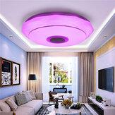 100W Smart LED Tavan Işığı Lamba RGB Bluetooth Müzik Hoparlörü Kısılabilir Yatak Odası