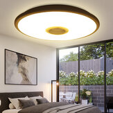 Умный LED Потолочный светильник RGB Лампа Bluetooth + Пульт ДУ E27 Потолочный светильник 220V