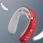 Multifuncional 3D Pescoço Pulso Massageador Elétrico USB Recarregável Compressa Quente Espinha Cervical Máquina de Massagem