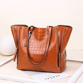 Women Leather Stylish Brief  Handbag Shoulder Bag
