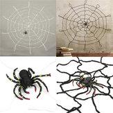 DecoraciónparaelhogardeHalloween Decoración para el hogar Web de araña grande Honor Props juguetes para niños regalo de los niños