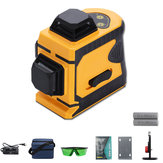 Laser Level 12 Lines Green Self Leveling 360 ° Rotary Cross Laser Meetinstrument