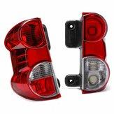 يسار / يمين الأحمر الخلفي الذيل السيارة ضوء شل الفرامل مصباح غطاء ل NISSAN NV200 2009-2013