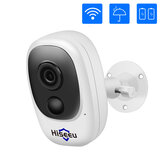 Hiseeu Cam 1080P HD Wireless Wifi Night Vision Two-way Audio IP65 Waterproof IP CameraWorks with Alexa For Smart Home