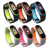 Bakeey Replacement Anti-lost Design Colorful سيليكون Watch حزام لـ Xiaomi Mi حزام 4 & 3 ذكي ساعة غير أصلية