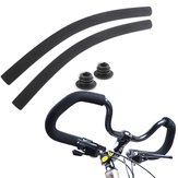 BIKIGHT Bicycle Cycling Foam Butterfly Handlebar Cover With Plug Dull Polish Bike Handle