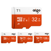 Aigo High Speed 16GB 32 GGB 64GB 128 GB Klasse 10 SD / TF-Speicherkarte Flash Laufwerk mit Kartenadapter Für iPhone 12 Smartphone Tablet Switch Lautsprecher Drohne Auto DVR GPS Kamera