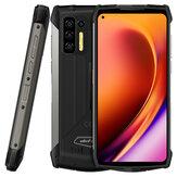 Ulefone Power Armor 13 13200mAh Batería 8GB 256GB 6.81 pulgadas 48MP Cuad Cámara Carga inalámbrica NFC Helio G95 IP68 IP69K Impermeable 4G Resistente Smartphone