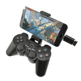 DATENFROSCH 208 Wireless Bluetooth 2.4G Gamepad Ergonomischer Joystick Game Controller für PS3 Android Phone TV Box