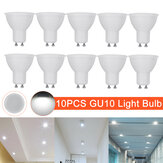 10 stuks AC220V GU10 LED-lamp Spotlight Lamp Downlight Home Office Hotel