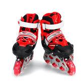 Rolki dziecięce Profesjonalne jednorzędowe 4-kołowe buty do jazdy na łyżwach Dzieci Dorosły