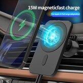 Bakeey 15W Chargeur de voiture sans fil magnétique Type C Chargeur de support de téléphone pour iPhone 12 12Pro Max 12