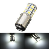 6000K 12V BA20D H6 24 LED SMD Motorcycle Moped ATV Pit Headlight Bulb