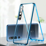 Bakeey for Xiaomi Mi 10 Pro 5G Case 2 in 1 Magnetic Adsorption Flip Tempered Glass + Lens Protector Metal Full Cover Protective Case Non-original