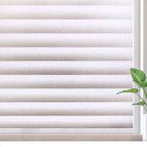Adesivo de vidro fosco de filme para janela de 100 / 200cm Anti-UV Privacidade Office Decoração para casa
