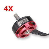 4 X Emax RS2205S 2600KV Racing Edition Brushless Motor for RC Drone FPV Racing