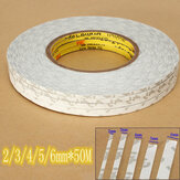 2-6mm and 50M Double Sided Extremely Strong Tape Adhesive For LCD Glass Cell Phone
