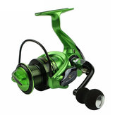 ZANLURE XF2000-5000 5.5: 1 13 + 1BB Left / Right Hand Visserij-reel Pre-Loading spinning Fishing Wheel