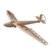 Tony Ray's AeroModel Minimoa 1422mm Wingspan escala 1/12 Balsa Wood Laser Cut KIT de planador de avião RC
