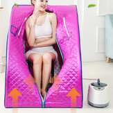 2L 1000W 110V Portable Steam Sauna Tent Home Spa Full Body Loss Weight Detox