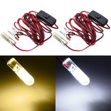 ZANLURE 12V 12W Cool/ Warm White Underwater LED Fishing Light Night Boat Attracts Fish
