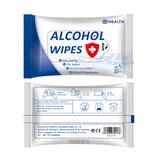 10 sztuk Przenośne chusteczki do sterylizacji alkoholu Podkładki alkoholowe Waciki Chusteczki nawilżane Skóra do czyszczenia w domu