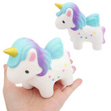 Unicorn Squishy 12 * 9CM Scented Squeeze Långsam Rising Collection Toy Soft Gift