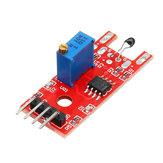 KY-028 4-pins digitale temperatuurthermistor Thermische sensor-schakelmodule Geekcreit voor Arduino - producten die werken met officiële Arduino-boards