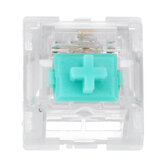 Feker 110 Pcs Mecânico Switches Milk Green Switch Transparente PC Invólucro superior Interruptor linear de 3 pinos para teclado de jogos Mecânico