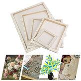 Cadre en bois de planche à dessin de peinture de toile carrée blanche blanche pour des peintures acryliques à l'huile d'artiste