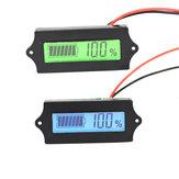 LCD Bateria Litowo Żelaza Fosforan LiFePO4 Acid Lead Bateria Litowa Wskaźnik Pojemność Cyfrowy Woltomierz Tester 12 V