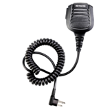 Retevis C9075A HM004 Motorcycle Double Needle Microphone for Two Way Radio Station IP55 ضد للماء