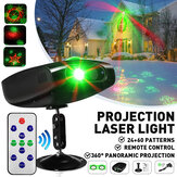 84 Pattern Colorful LED RGB Laser Light proiettore Disco DJ Stage Party KTV Christmas lampada AC85-260V