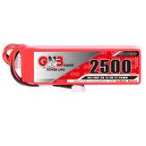GAONENG 11.1V 2500mAh 5C 3S Lipo Bateria JST Plug para Frsky Taranis X9D Transmissor