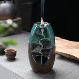 Porselen Geri Akış Seramik Koni Tütsü Burner Tutucu Budist Buhurluk