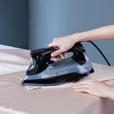Lofans YD-015BK Vaporizador de ropa portátil de mano LCD Pantalla 2000W Potente ropa Plancha a vapor Calentamiento rápido Eliminación de arrugas de tela Tanque de agua de 340 ml