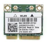 Broadcom BCM943228 DW1540 Mini Pcie Scheda di rete wireless interna 300M Scheda Wifi 2.4G / 5G Dual Banda802.11 a / b / g / n