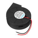 5015 24V Turbo Fan Sin escobillas Ventilador Extrusor DC Ventilador Ventilador de plástico negro para impresora Reprap 3D