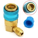 R134A A/C Low Quick Coupler Adapter QC-15L Automotive Air Conditioning with Cap