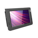 EASINY 10.1 inç HD Taşınabilir TV DVB-T DVB-T2 ATV Renkli LCD Ekran Araba Mini Televizyon Desteği USB SD TF Arabad MP4 H.265 Dolby Audio AC3 AB Tak